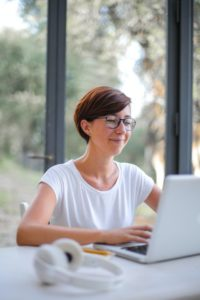 lady working on laptop | WayPath Consulting